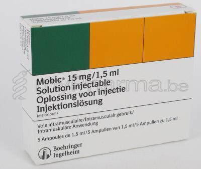 Mobic Meloxicam 7.5 Mg Boehringer Ingelheim